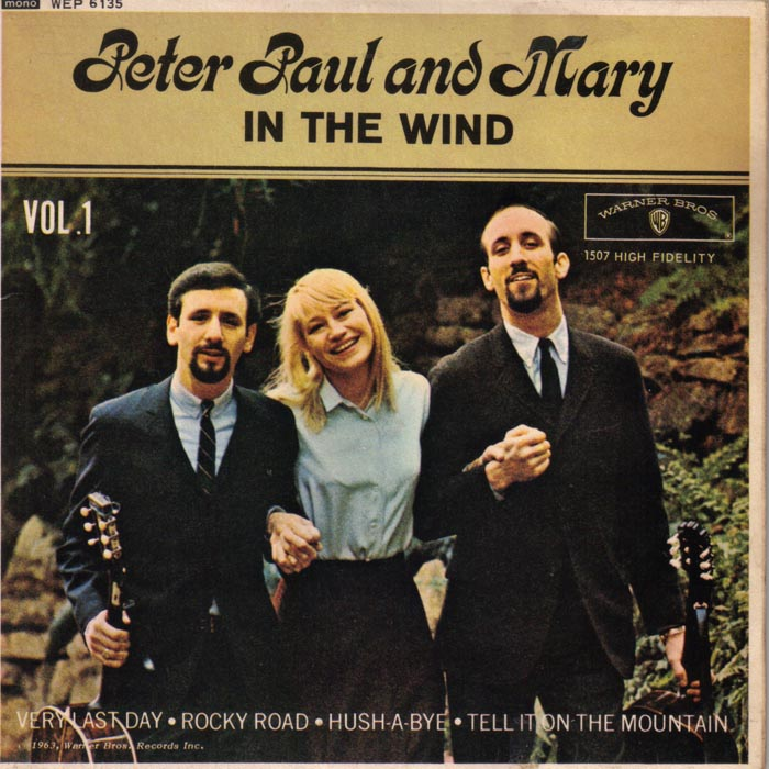 In the Wind, Peter Paul & Mary