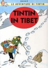 Tintin in Tibet, Copertina