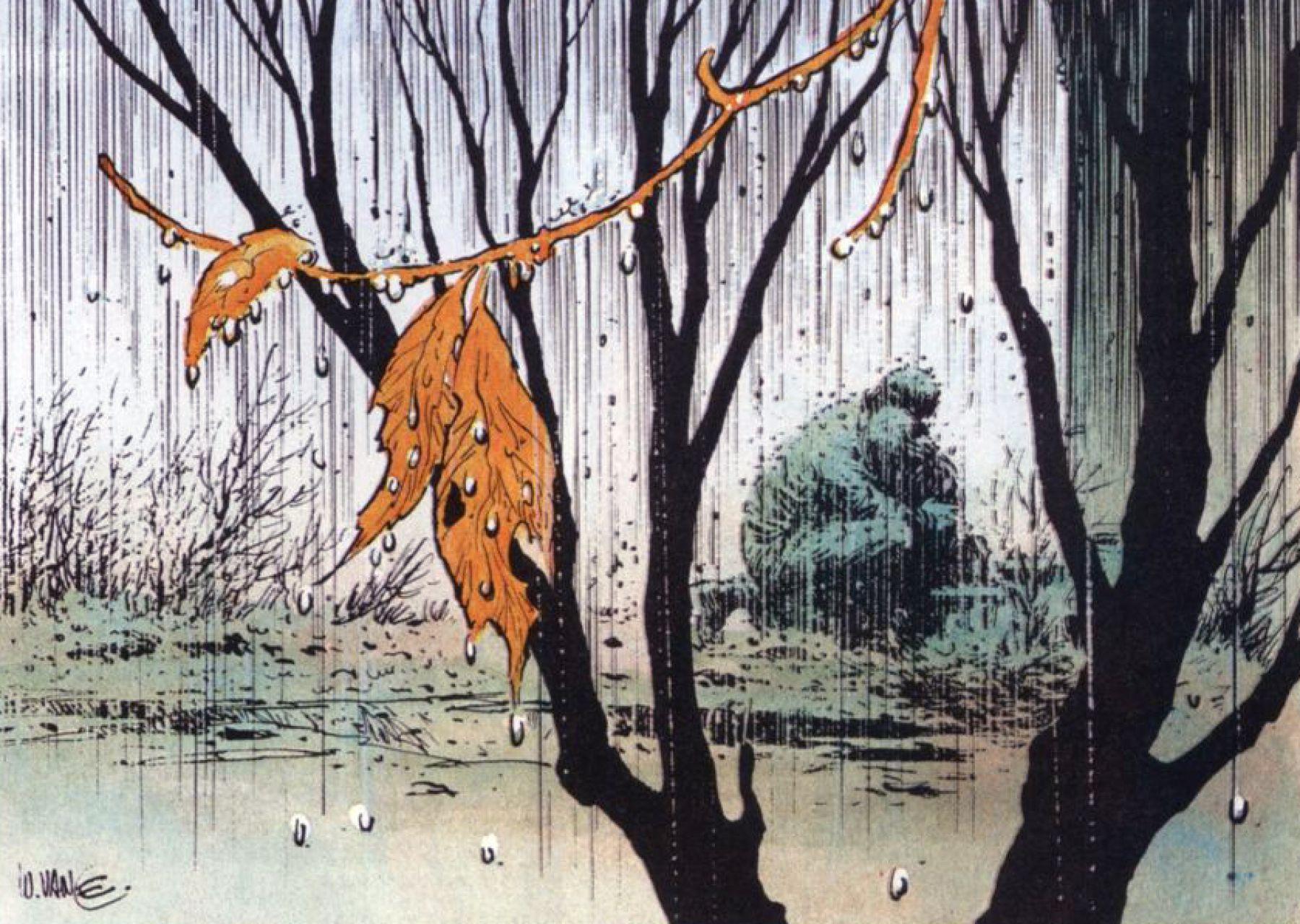La pioggia riflette il pianto di XIII