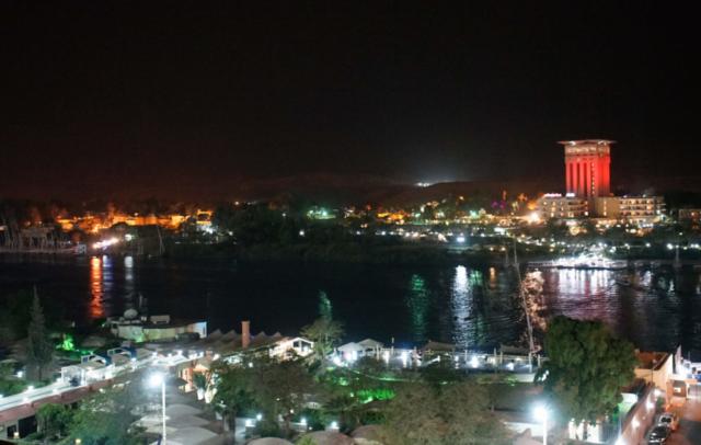 Aswan di notte