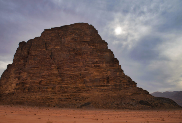 Le montagne del Wadi Rum