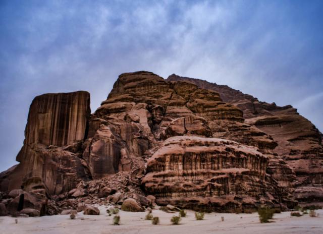 Le rocce del Wadi Rum