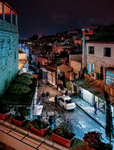 Una strada della città vecchia