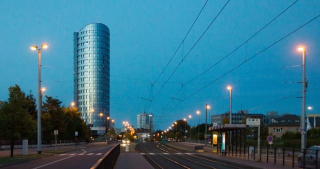 Olomouc di notte