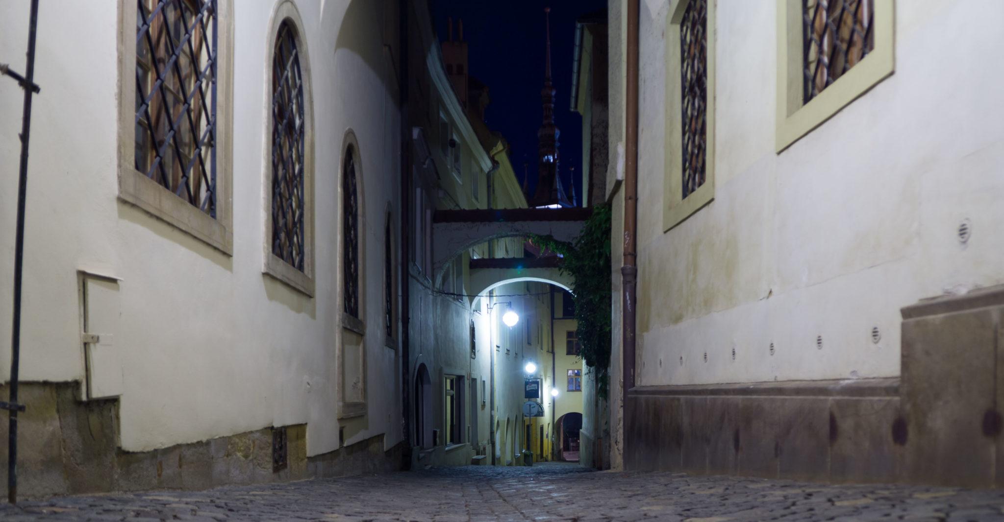 Un vicolo della città vecchia