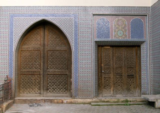 Un bellissimo portone di Fez