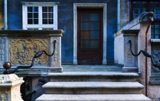 Una porta della città vecchia