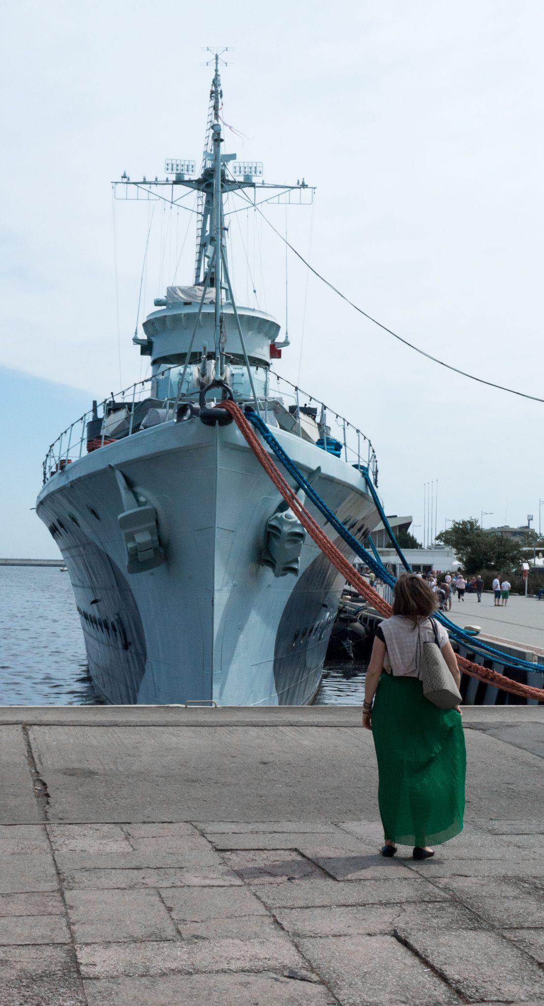 Voglia di partire, Gdynia