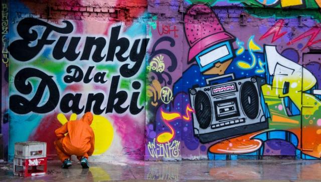 colori nel Porto di Danzica