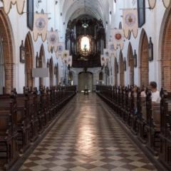 L'interno della Cattedrale di Oliwa