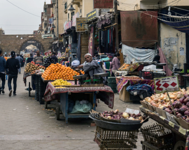 Il mercato di Aswan