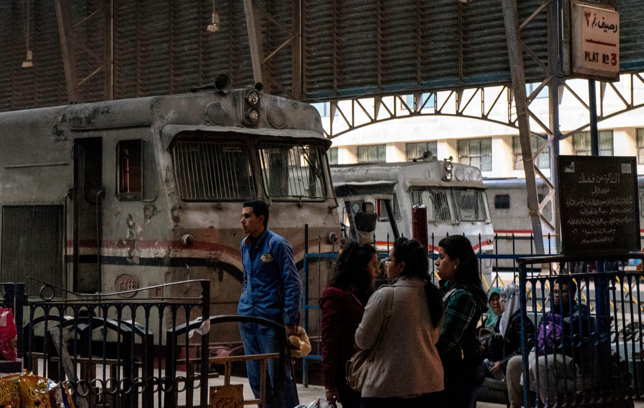 La stazione di Alessandria d'Egitto