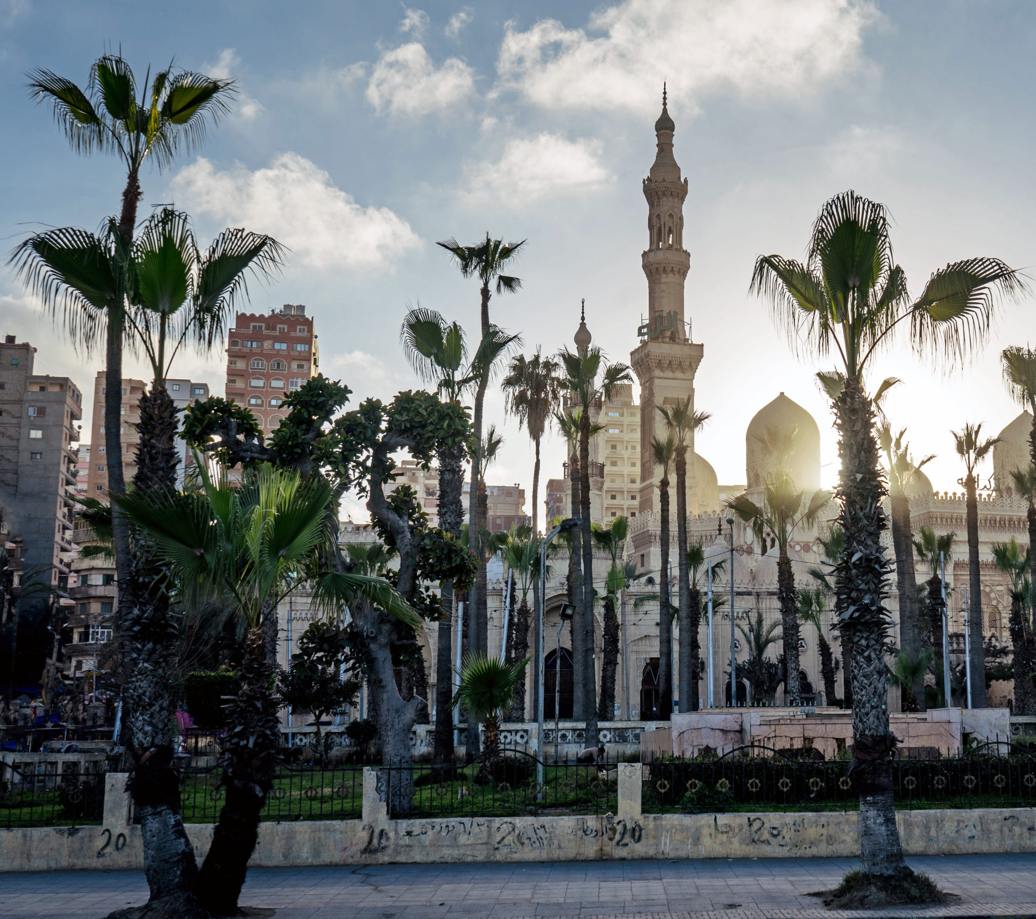 La moschea El-Mursi Abul-Abbas