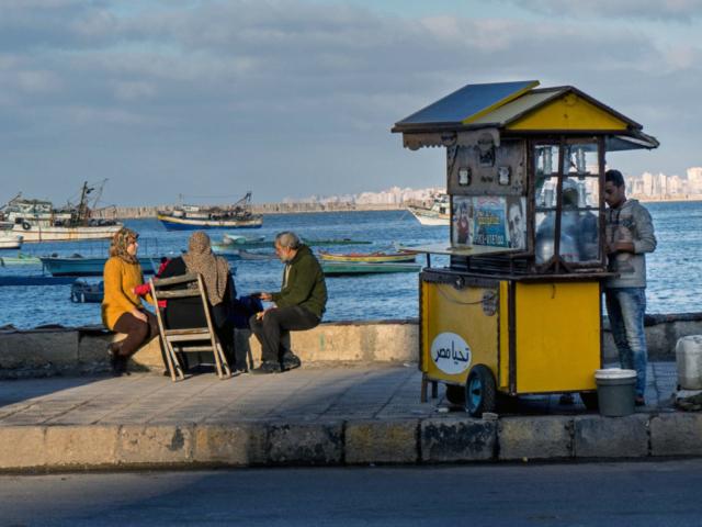 Alessandria, lungo mare