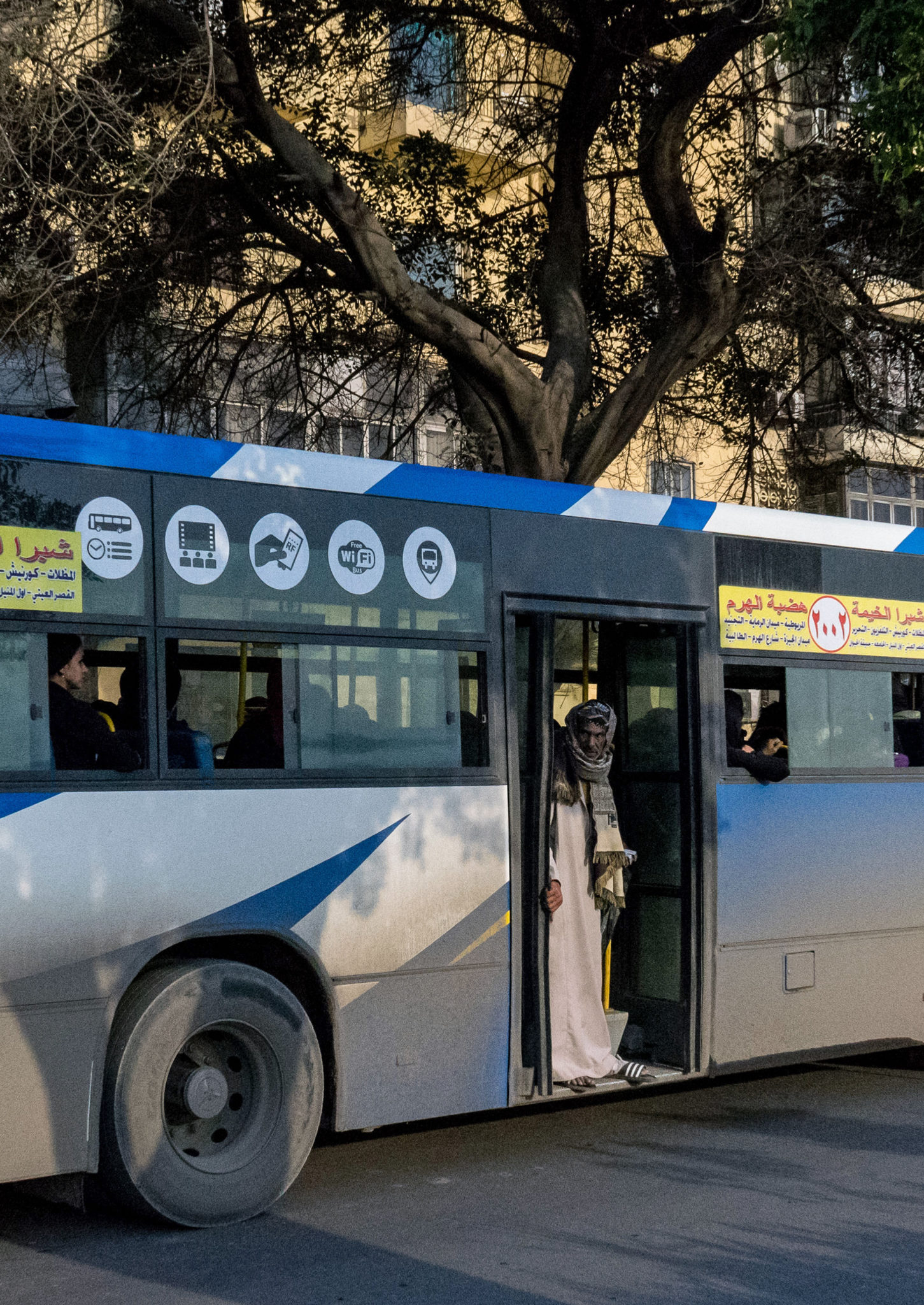 Il saladino sul bus