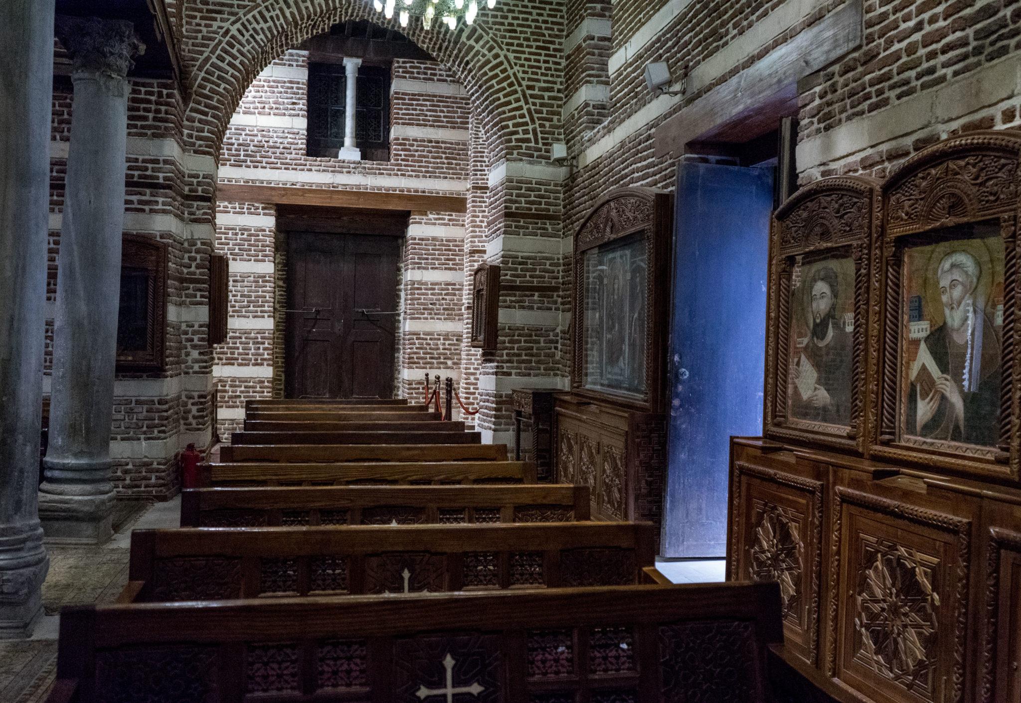 Chiesa nel quartiere copto
