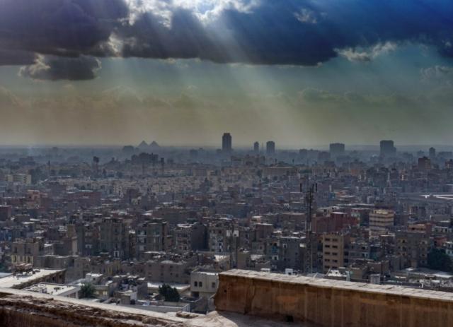 Panorama dalla Grande Moschea di Muhammad Ali Pasha