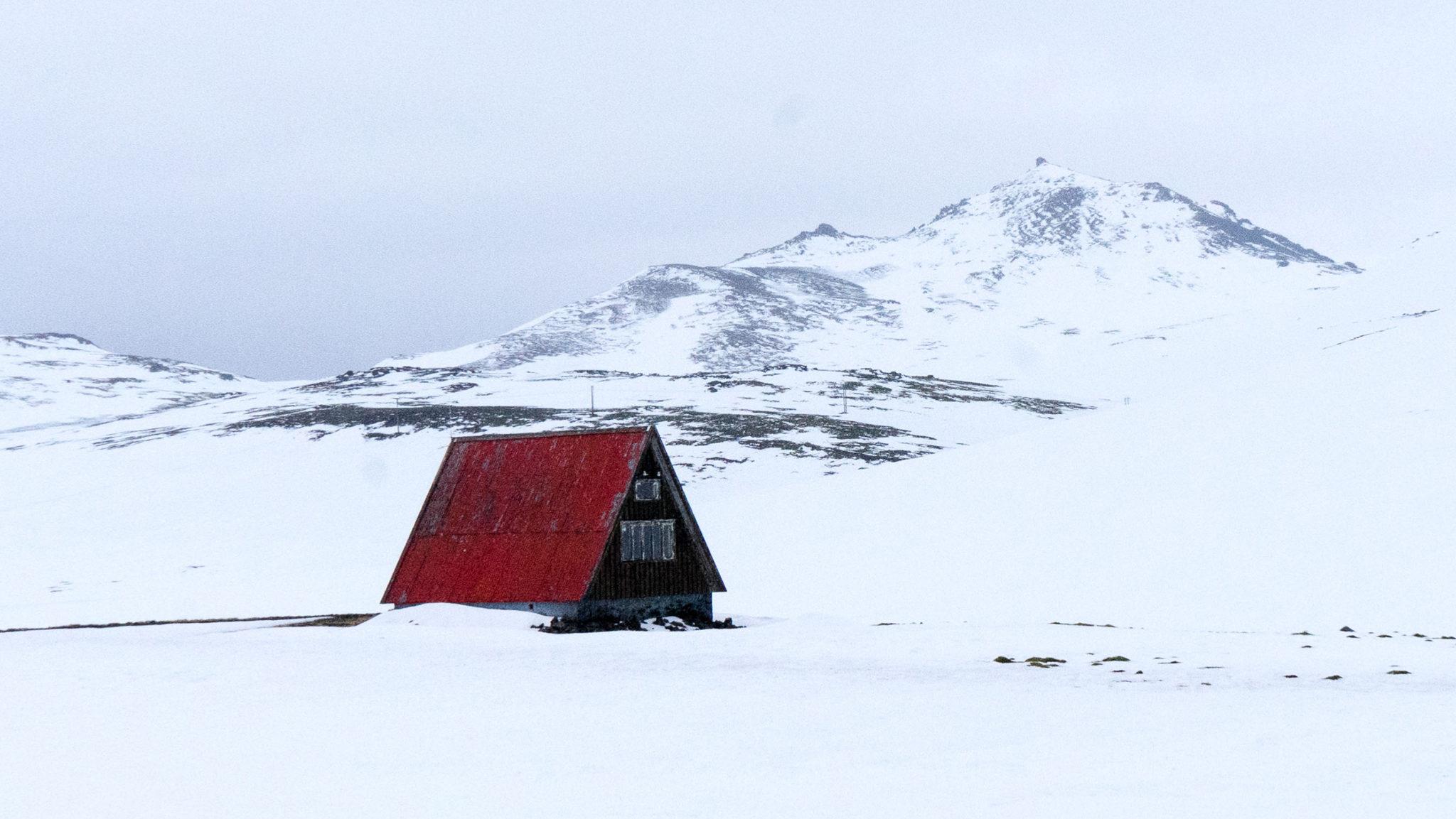 Una casa nei pressi di Ólafsvík