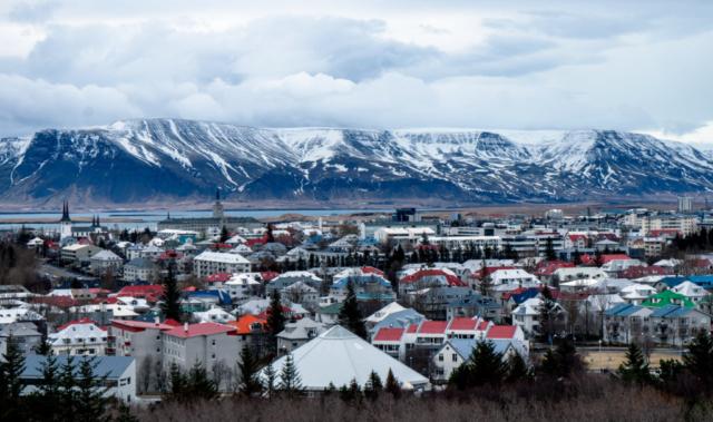 Reykjavík, panorama