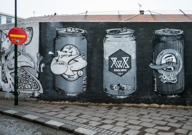 Murales in Reykjavík