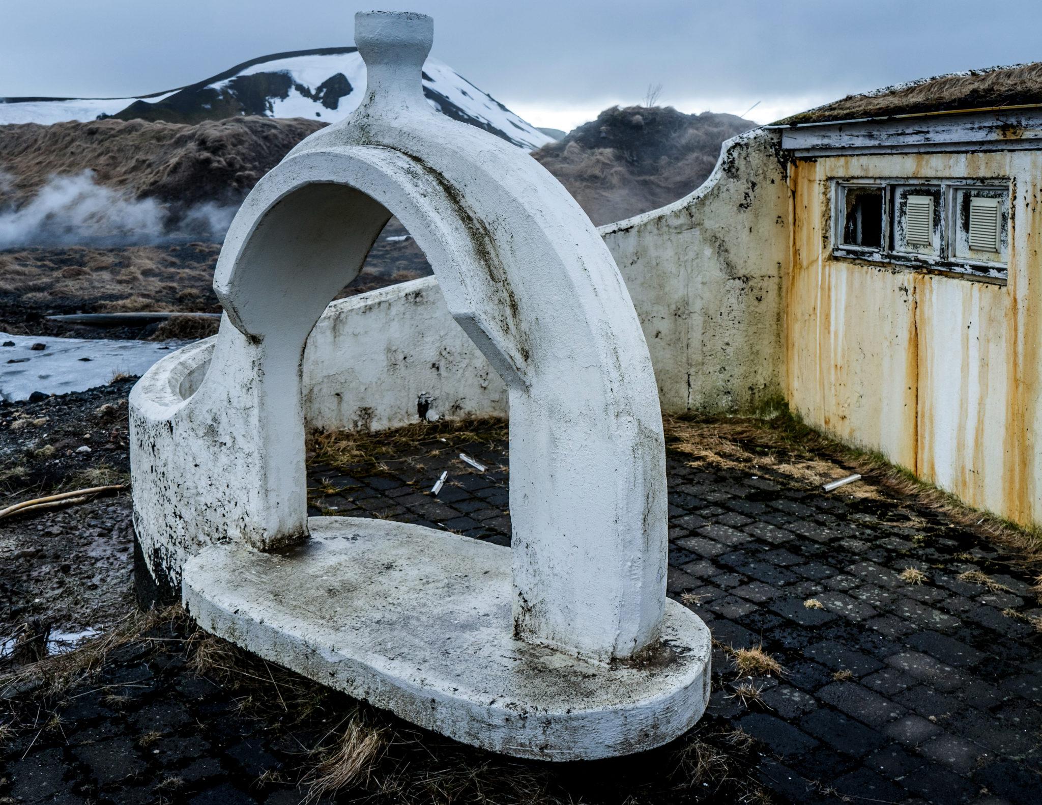 Un bagno termale abbandonato