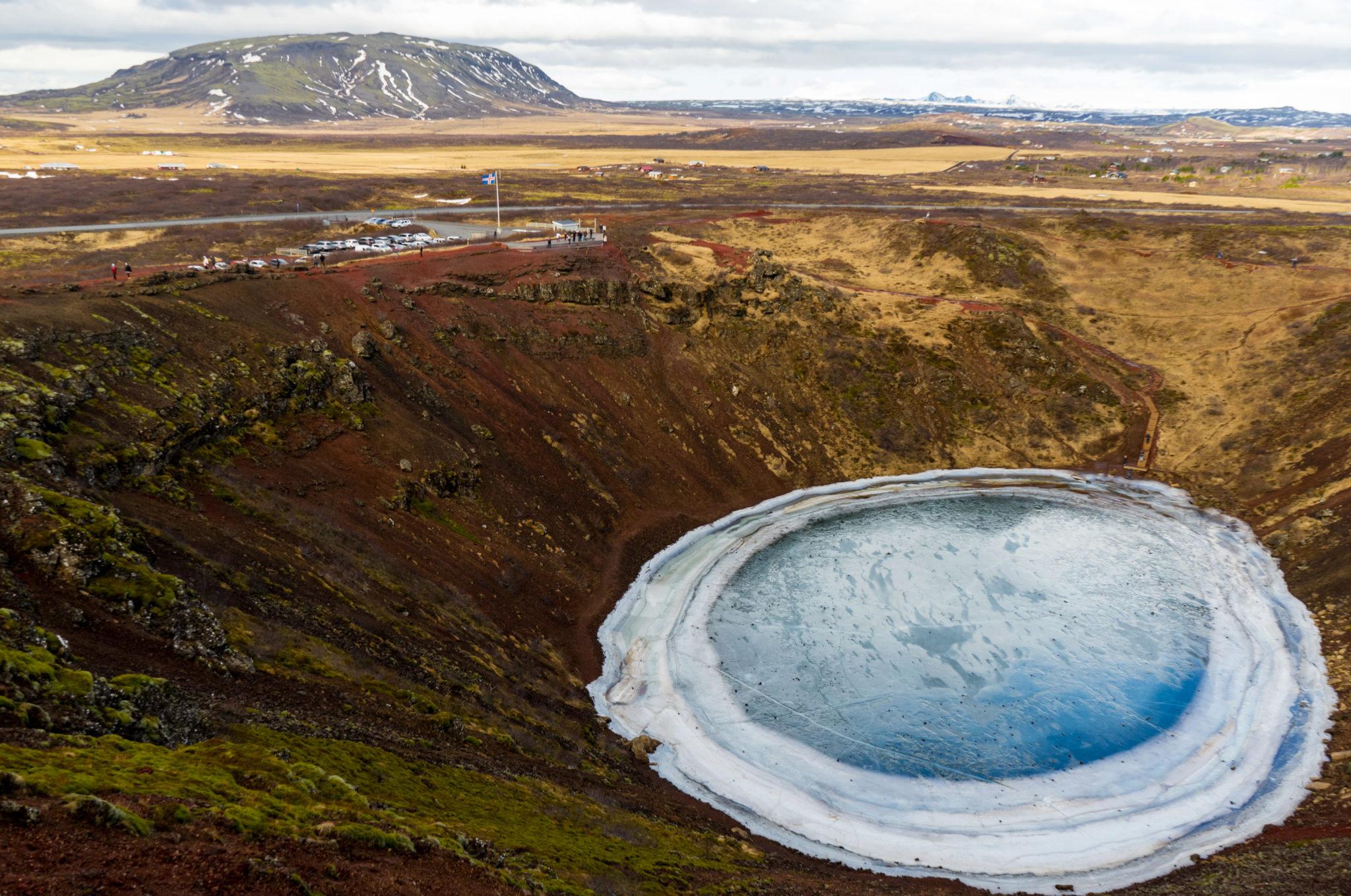 Il cratere di Kerið