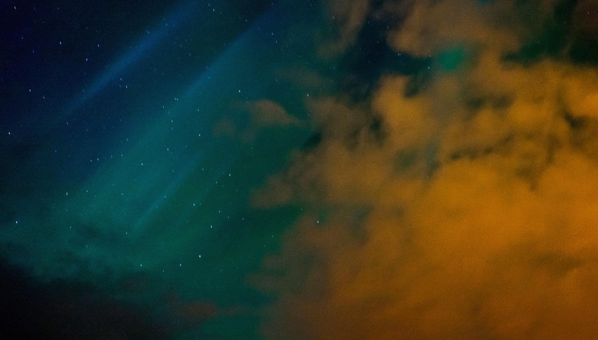 Aurora Boreale nei pressi di Hveragerði