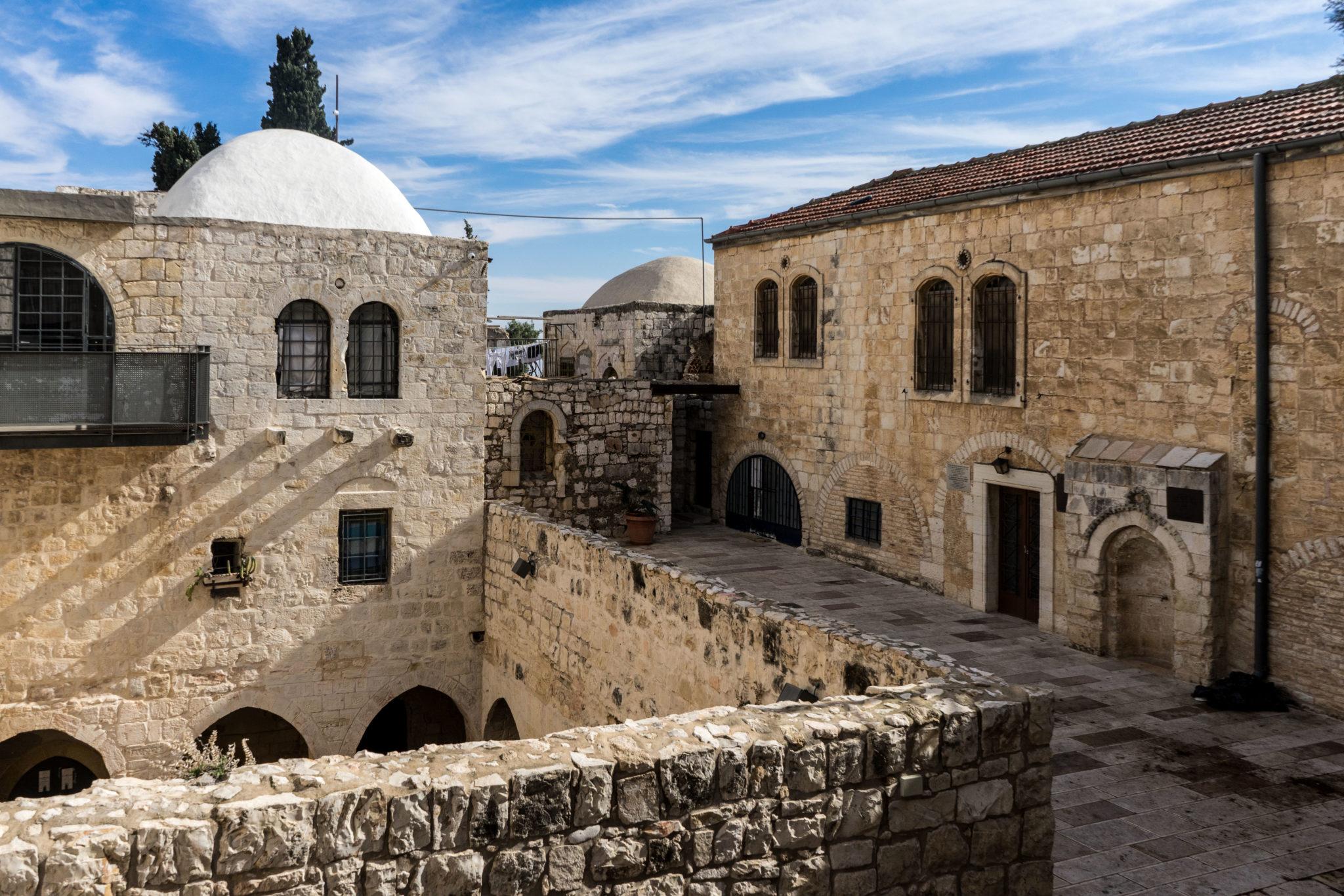 Nei pressi della Tomba di Re Davide