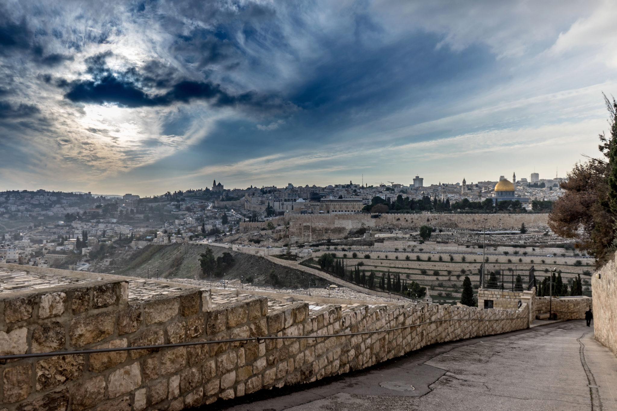 Panorama da Har HaZetim