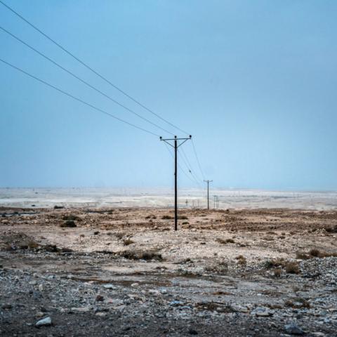 Nei pressi di Masada