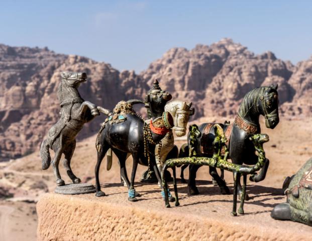 Statuette a Petra