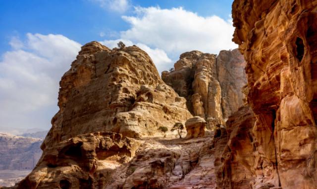Le montagne del Wadi Musa