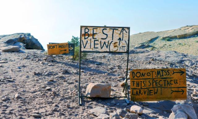 cartelli a Petra