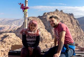 Beduini a Petra