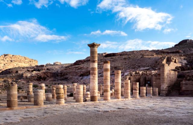 Colonne a Petra