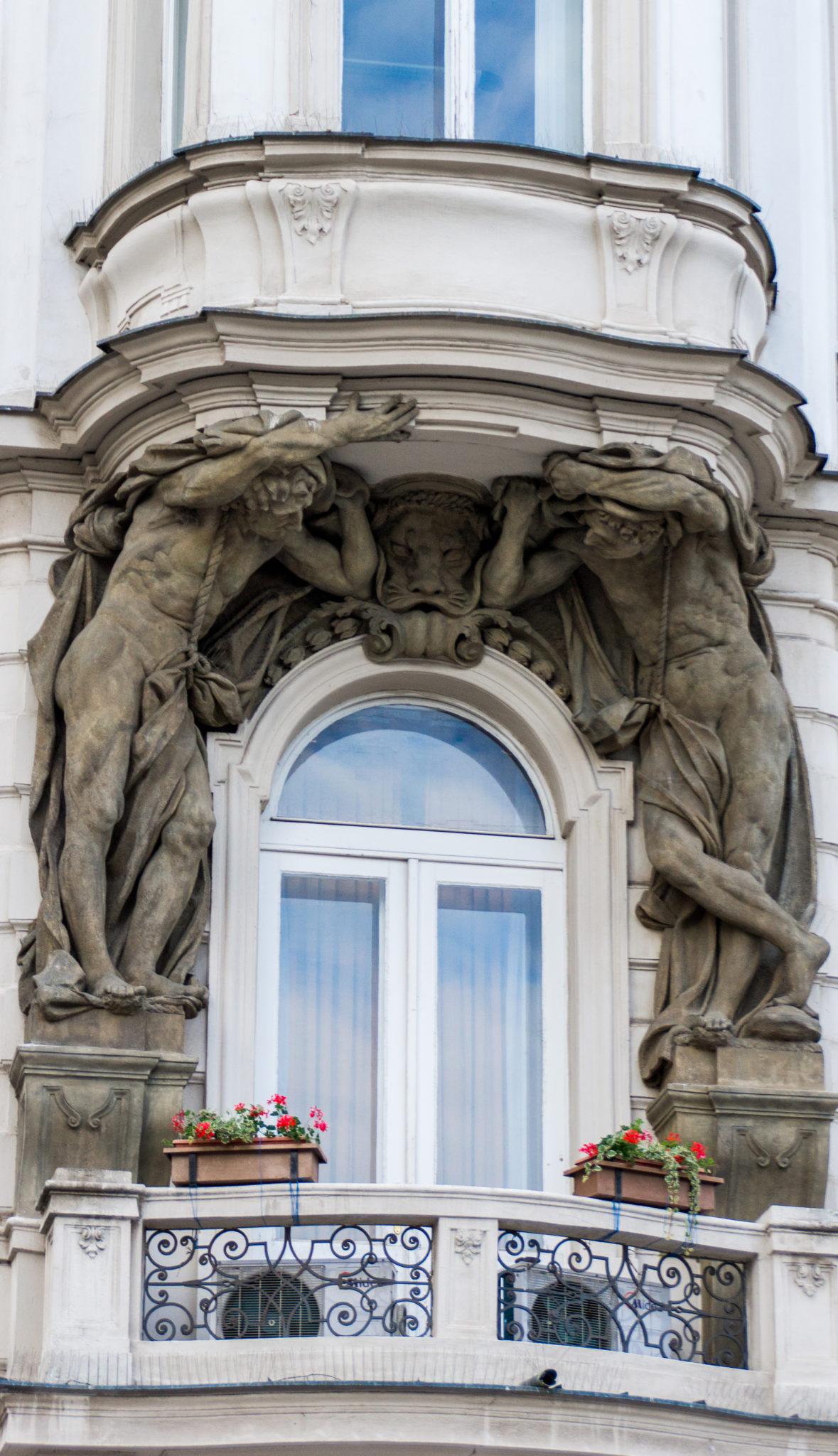 Un balcone modesto a Praga