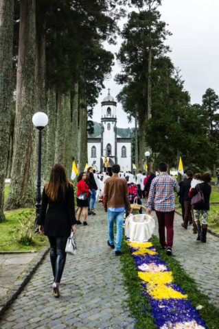 Sete Cidades, processione di Pasqua