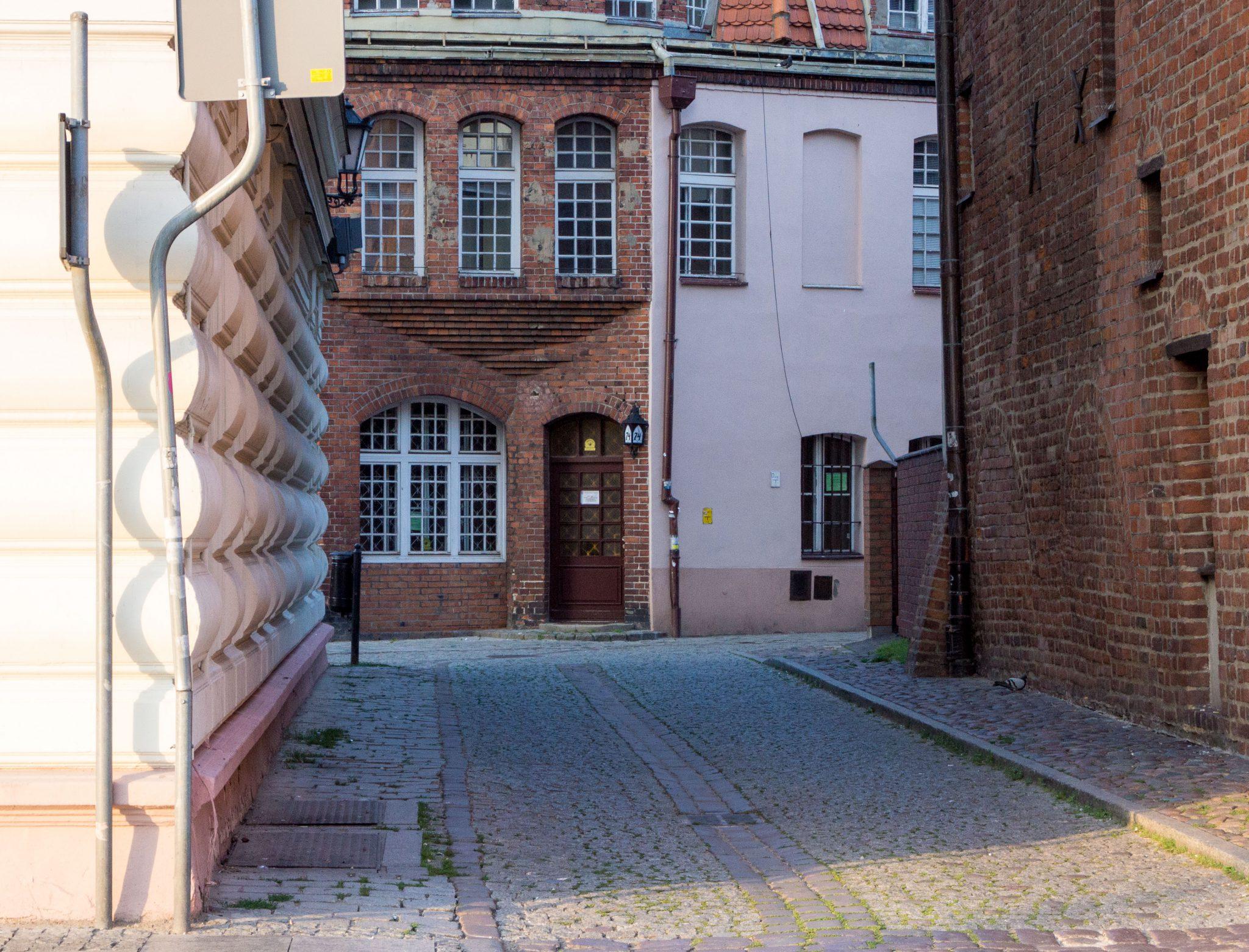 Una via della città vecchia